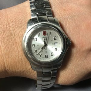 Swiss Army stainless steel watch